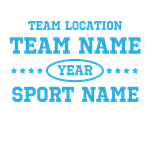 Sports Team Personalized