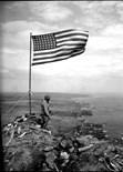 Raising Flag Iwo Jima