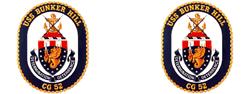 USS Bunker Hill CG 52  Gifts