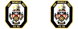 USS Mobile Bay CG-53  Gifts