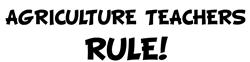 AGRICULTURE TEACHERS Rule! Coffee Mug
