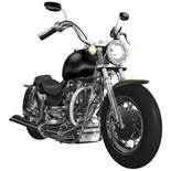 Motorcycle Back