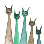Whimsical Cats