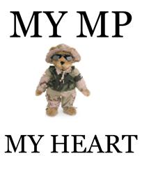 MY MP MY HEART Travel Coffee Mug