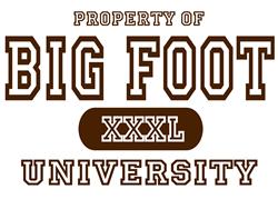 Big Foot University   Gifts