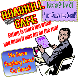 Restaurant Roadkill Coffee Mug