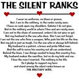 Silent Ranks Army Wife