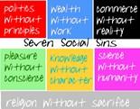 7 Social Sins