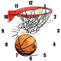 Basketball Wall Clocks
