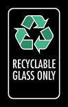 Recyclable Glass Only