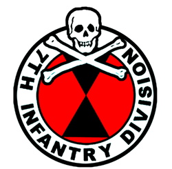 7th Infantry Div (L) Panama T-Shirt