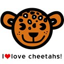 Kids cheetah Organic Kids T-Shirt