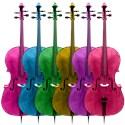 Cello Bumper Stickers