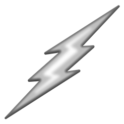 TD-Lightning Bolt Chrome