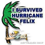 Survived Hurricane Felix