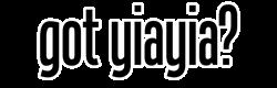 got yiayia? Oval Decal