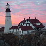 Scenic Maine Lighthouse
