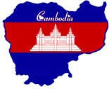 Unique Cambodian Map