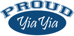 Proud YiaYia (blue) Hoodie