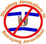 Jerusalem Never Again Divided