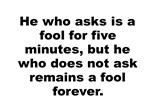 Chinese Proverb Quotation