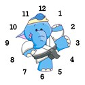 Elephant japan Basic Clocks