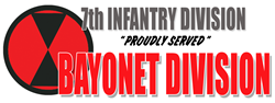 7th Infantry Division Baseball  Gifts
