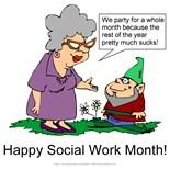 Fried Social Worker