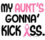I Wear Pink My Nana Going Kick Ass