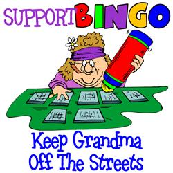 Support Bingo Funny