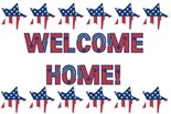 Welcome Home Army Wife