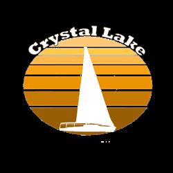 Crystal Lake, Michigan Oval Decal
