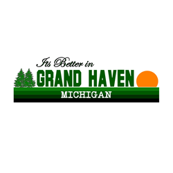 Its Better in Grand Haven, Mi Oval Decal