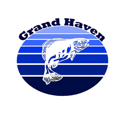 Grand Haven, Michigan Oval Decal