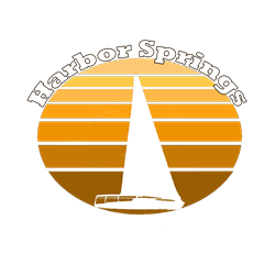 Harbor Springs, Michigan Oval Decal