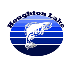 Houghton Lake, Michigan Oval Decal