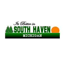 Its Better in South Haven, Mi Oval Decal