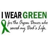 Saved Ribbon Donate Donor