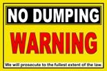 Dumping Allowed