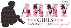 Army Girls (Make It Look Good) Baseball