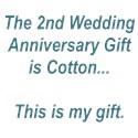 2nd anniversary Thong Underwear