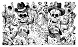 Skeleton Skeletons Calavera Calaveras
