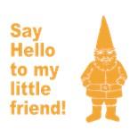 Says Hello
