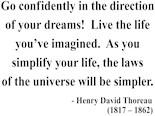 Thoreau Quote