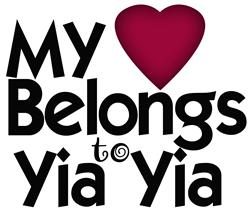 My heart belongs to Yia Yia