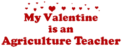 Valentine: Agriculture Teache Coffee Mug