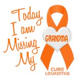 I Wear Grey Ribbon My Grandma Grandmother Nana