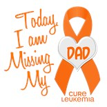 I Wear Orange My Dad Father Memory Today