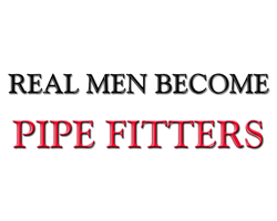 Real Men Become Pipe Fitters Hoodie Gifts