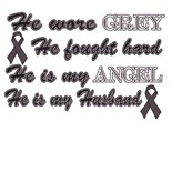 Support Brain Cancer Awareness Month Gray Ribbon
